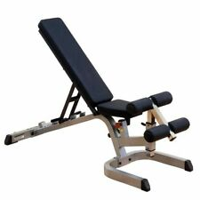 Body-Solid GFID71 Heavy Duty Flat, Incline, and Decline Bench, Body Solid