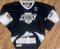 CCM Los Angeles Kings Wayne Gretzky Heroes Of Hockey NHL Jersey Black Large XL