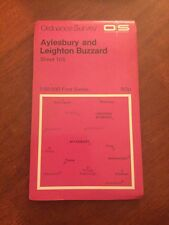 Aylesbury & Leighton Buzzard Ordnance Survey 1:50 000 First Series Map 165