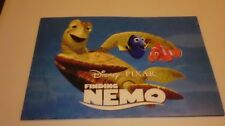 Disney Store Finding Nemo Limited Edition Lithograph Set 4 Exclusive Lithographs