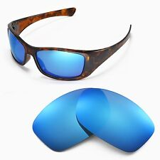 New Walleva Ice Blue Replacement Lenses For Oakley Hijinx Sunglasses