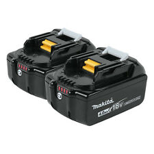 Makita 18-Volt LXT 4.0Ah 40 Min. Charge Lithium-Ion Battery, 2 Pack | BL1840B-2