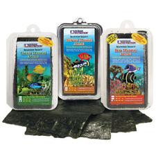 Ocean Nutrition Seaweed 8g 12g 30g Red Green Brown Nori Aquarium Fish Tank Food