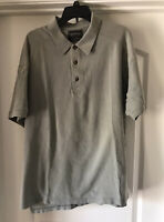 The Arrow Company S/S Army Green Cotton Golf Polo Shirt Size XL