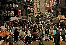 Hong Kong,China,Open Street Market,Used,Kowloon,HK Stamp.1986