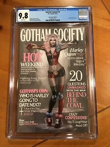 SUICIDE SQUAD #6 NATALI SANDERS TRADE VARIANT CGC 9.8 NM/MT Pre Shipping