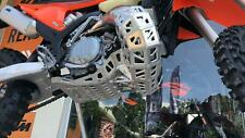 Skid plate with exhaust guard and plastic bottom for KTM Exc150 2020-2021