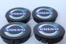VOLVO Cache Moyeux Centres de Roue Silicone Emblem 4p x 60mm/55mm  *NEUF*