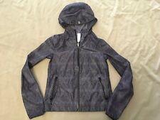 Ivivva Jacket 10 Girls By Lululemon Grey Designs Hoodie Windbreaker Full Zipper