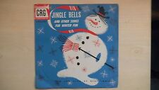 "CRG Records JINGLE BELLS 10"" 78 RPM 50s"