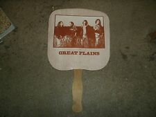 Great Plains country band fan club promotional tour fan Columbia Records