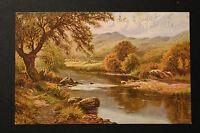 Carte postale ancienne CPA Illustrateur Paysage
