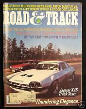 ROAD & TRACK Magazine May 1977 Mercedes Benz 280E