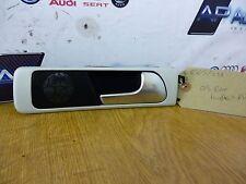 RS6 Brushed Aluminium Door Handle Trim, Chrome Handle, Off Side Rear 4B0 839 020