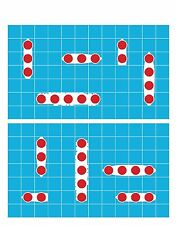 Battleship Game Pistol & Rifle Gun Shooting Target 23x29  Qty  20 count