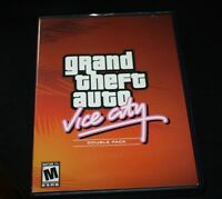 Playstation 2 Grand Theft Auto Vice City w/ Manual  Black Label Sony PS2  --HHX#