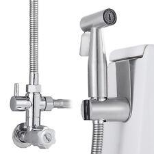 Latón shataf ducha bidet grifos WC Cromo musulmán para higiene personal