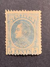 1880 Venezuela Stamp CA3 Sc#68