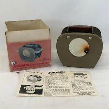 Vintage Nestor Johnson Card Shuffler Model 65 w/Original Box & Instructions