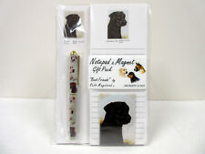 New Labrador Retriever List Pad Note Pad Magnet Pen Stationery Gift Pack RLA-2