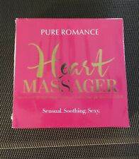 Heart Reusable Warming Gel Heating Pad Massager by Pure Romance *NEW*