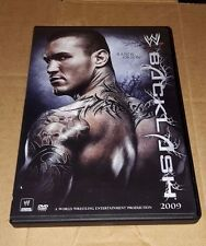 BACKLASH 2009 wwe wrestling dvd