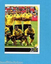 COPA AMERICA 2015 CHILE-Figurina n.184- SQUADRA/TEAM DX -JAMAICA-NEW-BLACK BACK