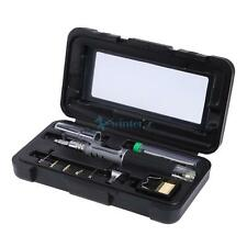 10-in-1 Portable Gas Soldering Iron Cordless Welding Torch Kit Tool