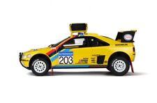 PEUGEOT 405 T16 Grand Raid Paris Dakar 1990 Winner Vatanen Otto RAR SP 1:18