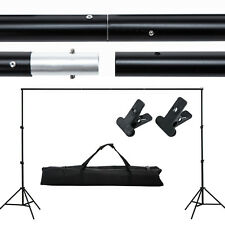 Adjustable 10ft Photography Background Support Stand Photo Backdrop Crossbar Kit