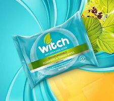 Witch Biodegrdble Cleansing & Toning Wipes 20 FREE POSTAGE