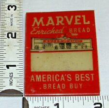 MARVEL ENRICHED BREAD EMPLOYEE RED NAME BADGE