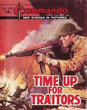 Commando For Action & Adventure Comic Book Magazine #1543 TIME UP FOR TRAITORS