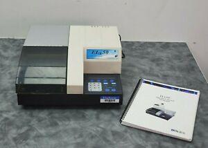 Biotek ELX50 Microplate Auto Strip Washer w/ Instruction Manual + Power Supply