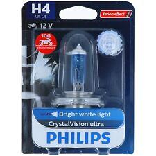 H4 PHILIPS CrystaVison ultra - Xenon-Effekt - Halogen Scheinwerfer Lampe NEU