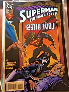 Superman: The Man of Steel #41 (Feb 1995, DC)