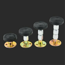 1 Set Adjustable Threaded Bed Frame Anti-shake Tool Telescopic Support for Wall