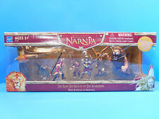 Chronicles of Narnia The Battle of Beruna Action Figure Set  New