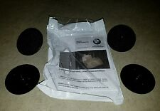 NEW GENUINE BMW OEM FLOOR MAT *T-ANCHOR LOCK FASTENER SET OF 4