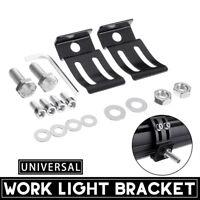 2PCS Universal LED Work Light Bar Mounting Bracket Aluminum For Car Offroad