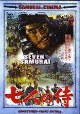 Akira Kurosawa Seven Samurai movie Dvd Toshiro Mifune
