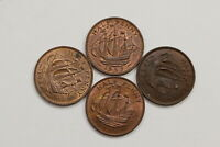 UK GB HALF PENNY'S LOT IN HIGH GRADE B10 WV46