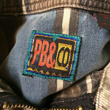 Vtg 80s 90s Grunge Punk Wave Surf Skate Beach Pullover Stripe Shirt Corduroy M