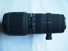 CANON FIT SIGMA APO 100-300 mm f4 EX DG Lens + CAPS + CASE + HOOD 100 - 300MM
