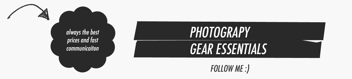 Photography Gear Essentials
