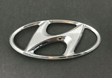 Hyundai Accent 1999-2002 OEM GENUINE Parts Front H Logo Emblem 8630038000