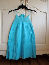 3 Pommes turquoise blue with sequences girls  dress size 12