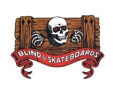 "BLIND / HERITAGE ""Ripper Stocks"" Skateboard Sticker 11cm x 8cm Snowboard Camper"