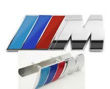 BMW M Front Car Badge Grill+Rear Boot Emblem For BMW M Sport 1 3 4 5 6 7 Series