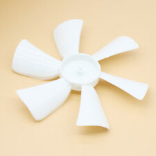 """2 Pack RV Fan Blade Replacement, 1/8"""" D-Bore, 6"""" whide, White for Trailer Camper"""